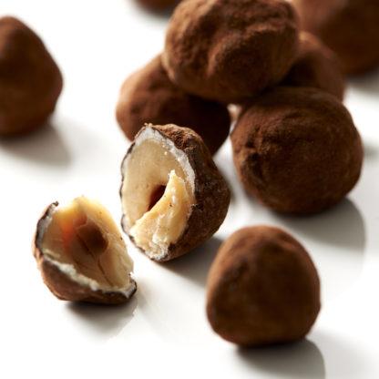 Noisettes Enrobées de Cacao