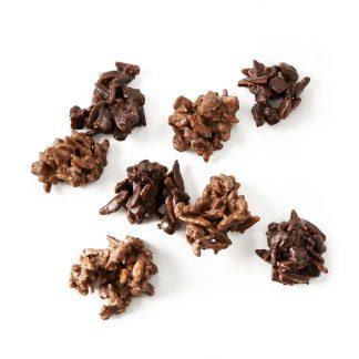 Les Rochers Suisses Chocolat Noir et au Lait