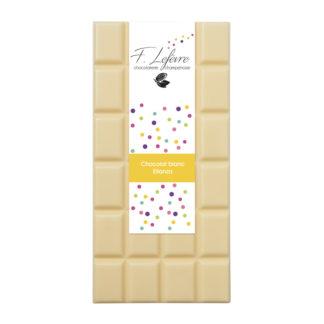Tablette chocolat blanc Elianza