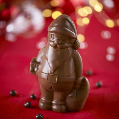 Pére Noël en Chocolat Lait