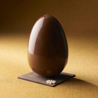 Oeuf duo de chocolats